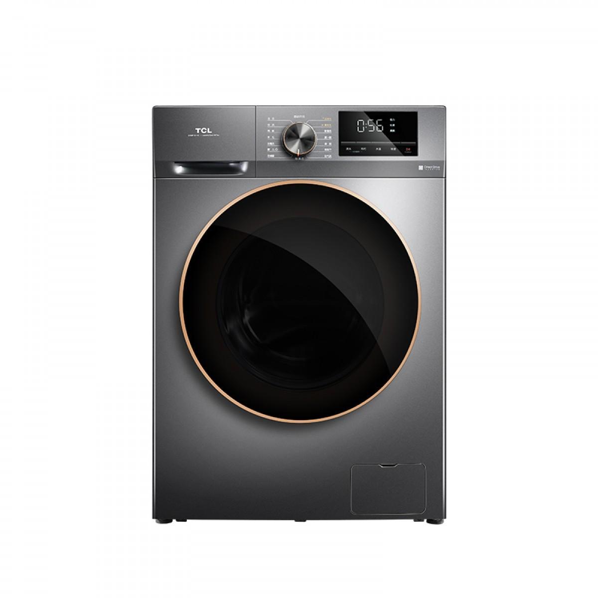 TCL 洗衣机 G100F12-D星耀灰