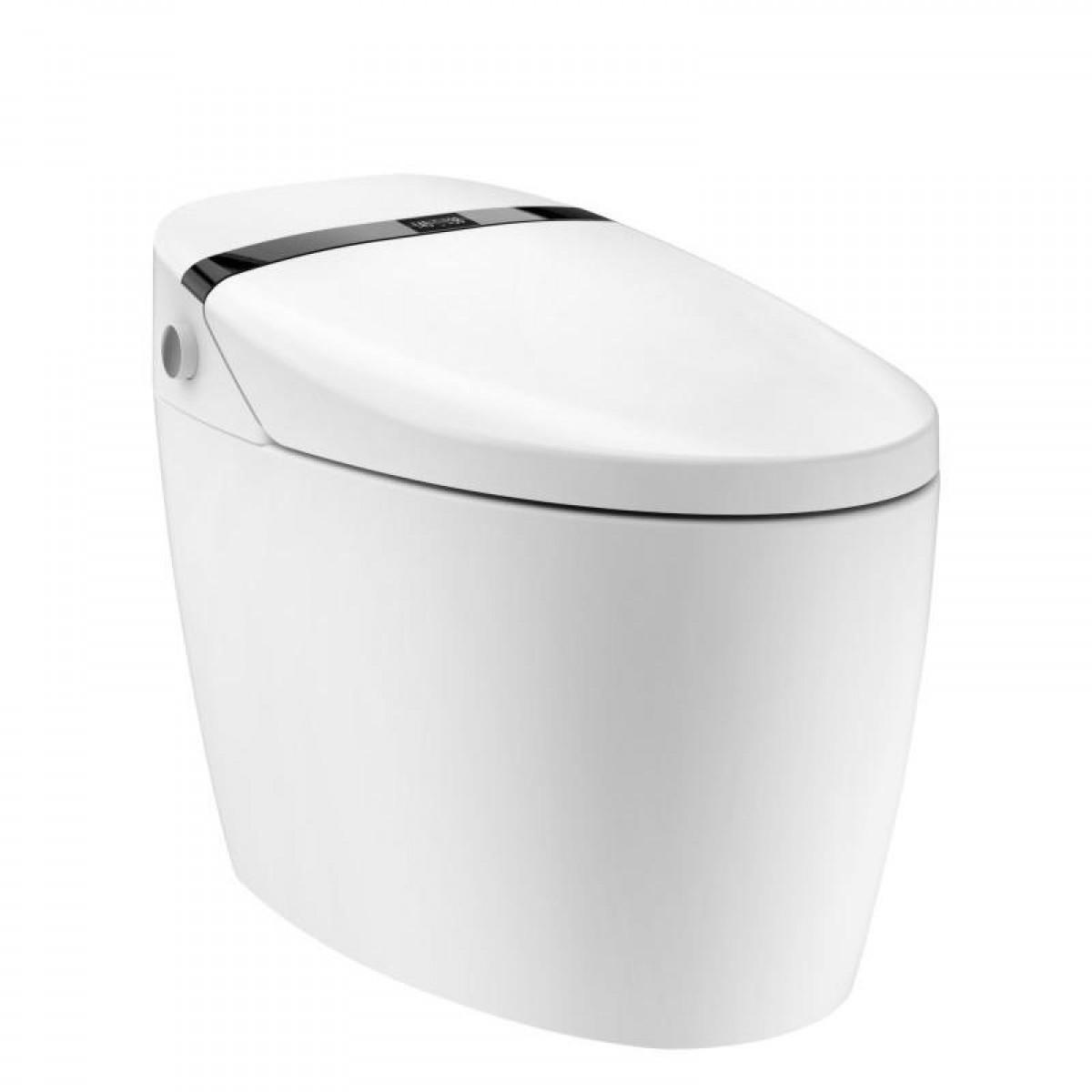 慢道卫浴 家用厕所老人小孩大人智能坐便器无水箱即热式 SMART1007