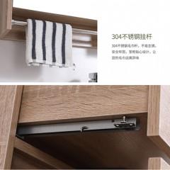 陶的卫浴 实木浴室柜 TD-82688(不含龙头)