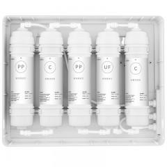 康佳 直饮家用净水器自来水五重过滤厨房饮水机 KUF-M1(028)