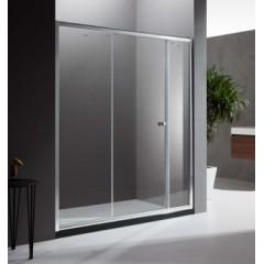 朗斯 淋浴房 非凡B42 镁铝合金-亮银