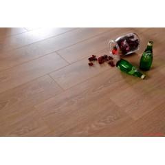 金钢铂林 强化复合地板 浅抓纹棕橡 8634(裸板) 1285*192*12mm