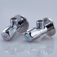 潜水艇 角阀全铜加厚加长三角阀套装冷热分开止水阀F006/F007