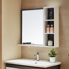 安华卫浴 浴室柜浴室镜组合卫浴柜洗手洗脸洗漱台盆套装N3D85G15-C