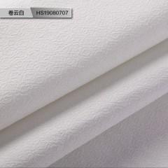 米素 高档仿驼绒墙布无缝欧式卧室现代中式卧室客厅背景墙壁布 华笙