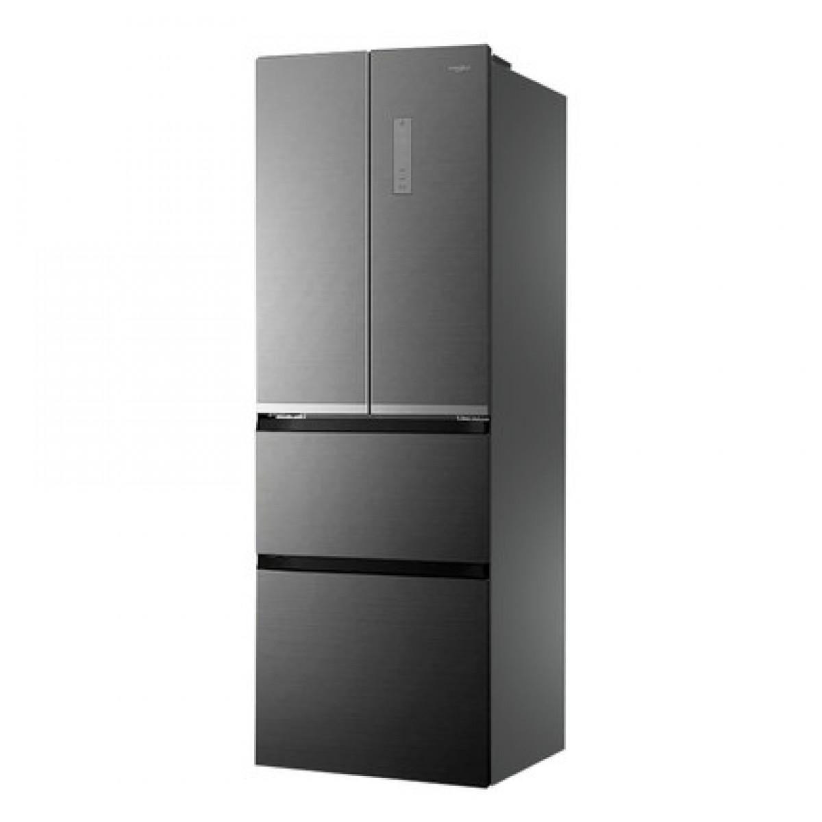 惠而浦 BCD-326WMGBWS星悦银法式四门冰箱