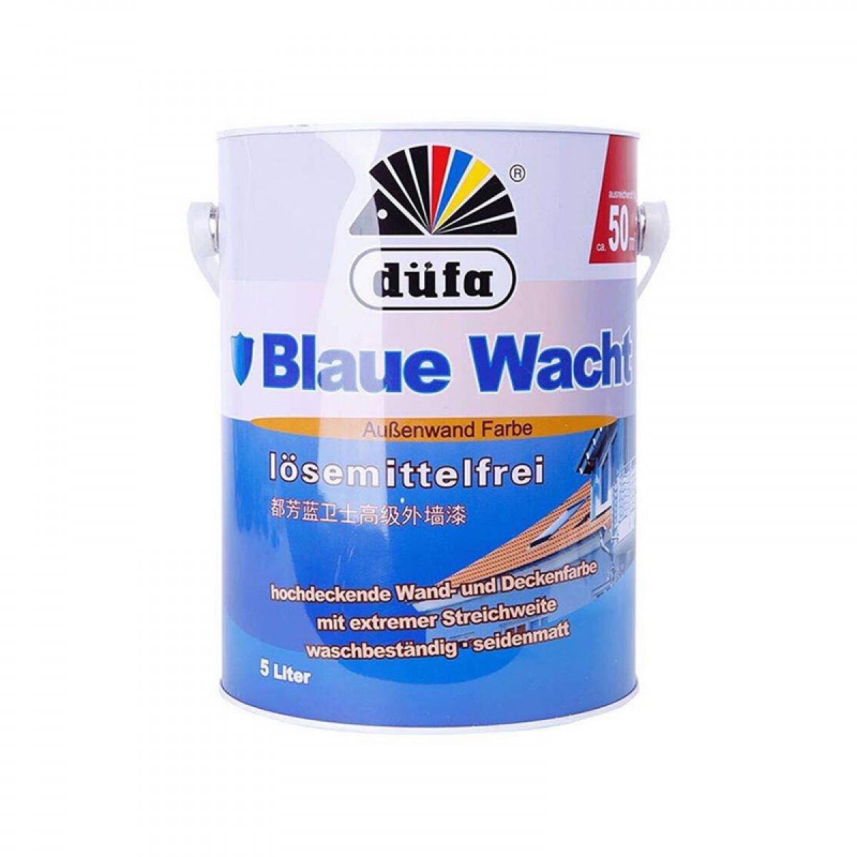 德国都芳蓝卫士高级外墙漆底漆乳胶漆水性漆涂料5L