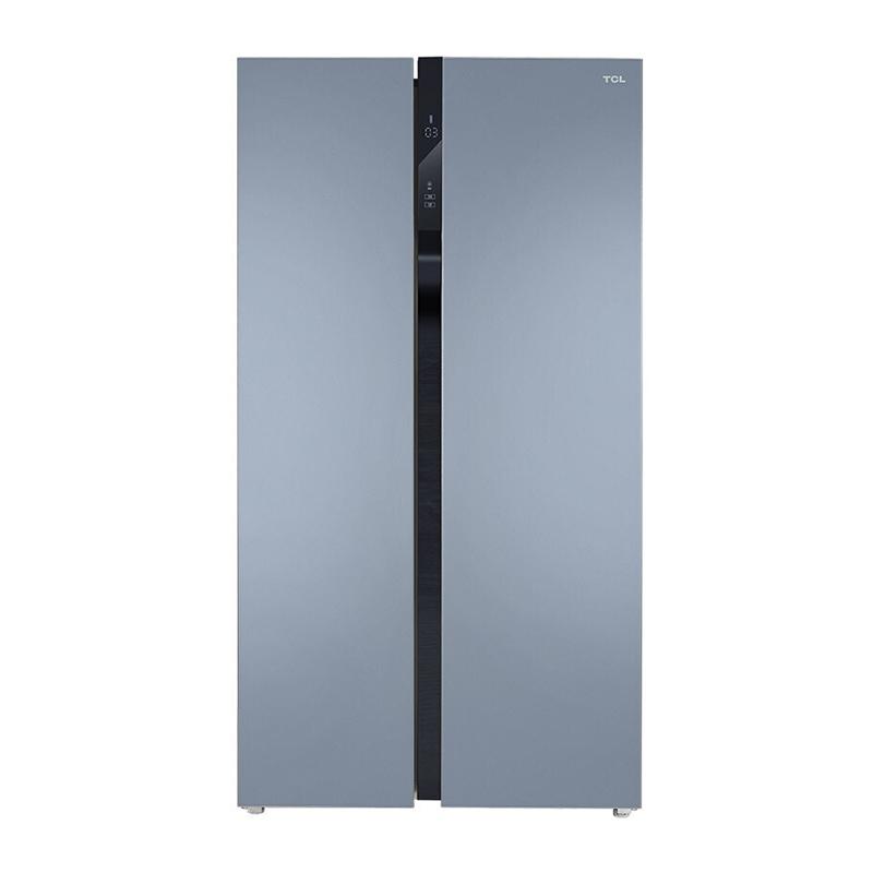 TCL 对开风冷冰箱 520P6-S星云蓝