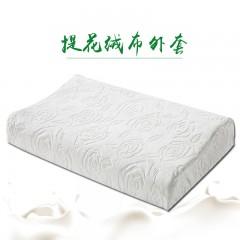 蒂泰天然乳胶曲线高低波浪枕头呵护颈椎成人枕