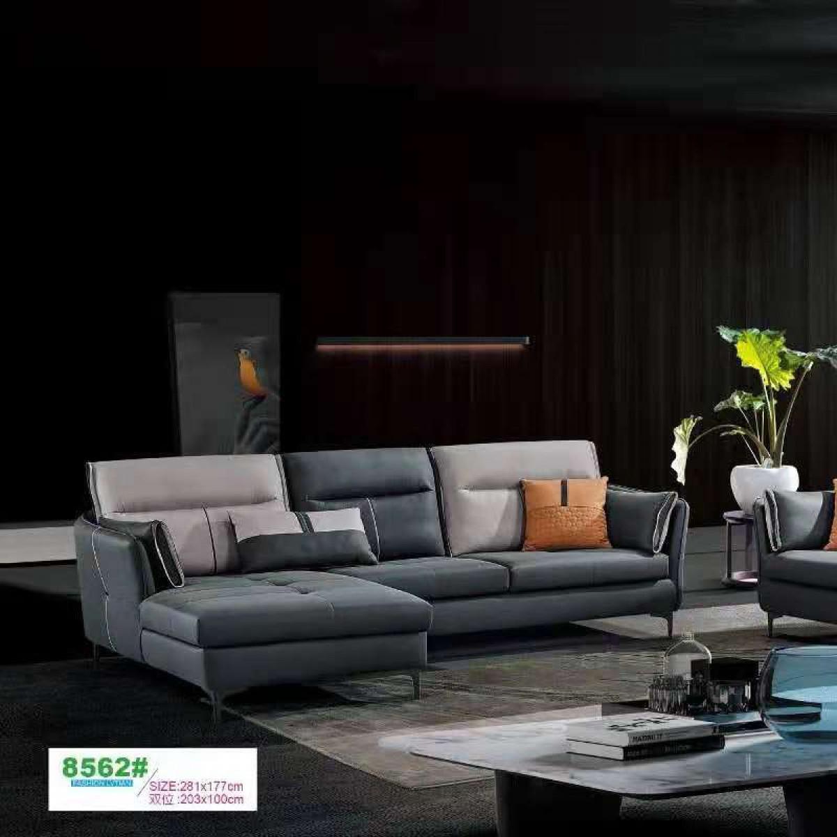 现代风格高级灰13件套组合全屋家具