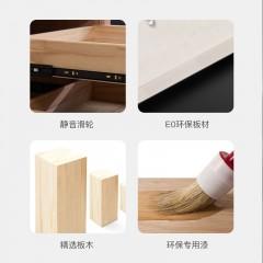 屋森意式极简风全实木优质皮W-GRS-918床2080*1810*1100mm/2080*1510*1100mm