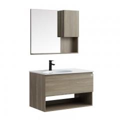 澳斯曼卫浴 浴室柜 生态实木板 AS16019B-1S