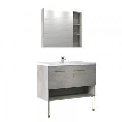 澳斯曼卫浴 浴室柜 生态实木板 AS16129A-5S