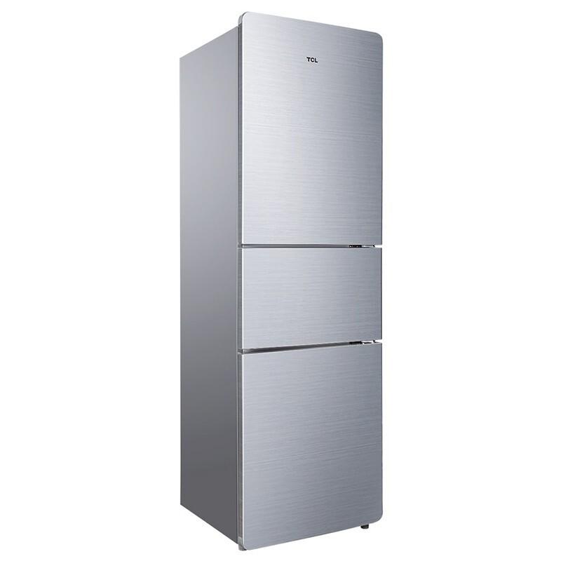 TCL209L容量强劲冷冻力三门三温区(闪白银)209F3-C